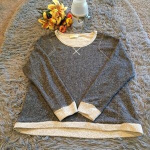 Bobbie Brooks Charcoal Gray Sweater Sz Medium